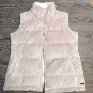 Athleta down and fleece vest size small